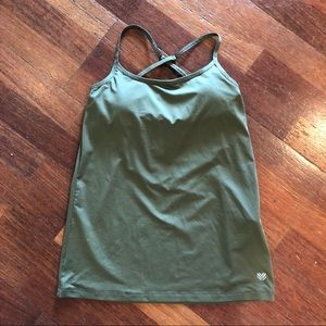 Forever 21 strappy Athletic Tank XS